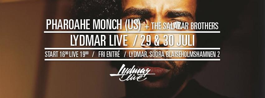 Pharoahe Monch Lydmar Live